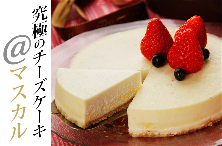 究極のチーズケーキ @マスカル