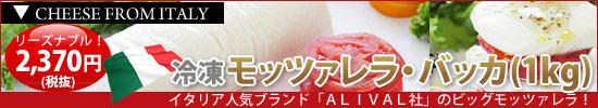 冷凍モッツァレラ・バッカ1kg