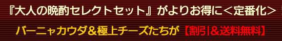 『大人の晩酌セレクトセット』がよりお得に<定番化>!