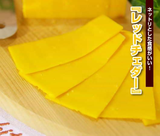 ◆ネットリとした食感がいい! 『レッドチェダー』!