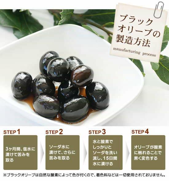 ●<ブラックオリーブの製造方法>