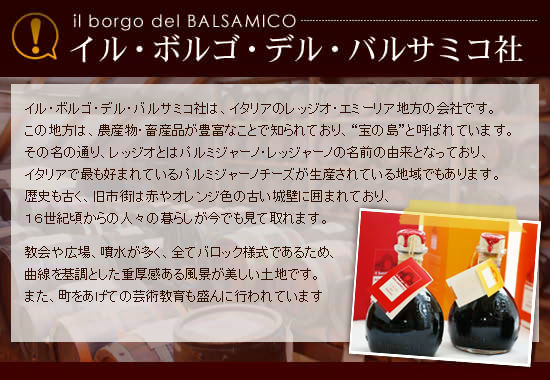 ■イル・ボルゴ・デル・バルサミコ社