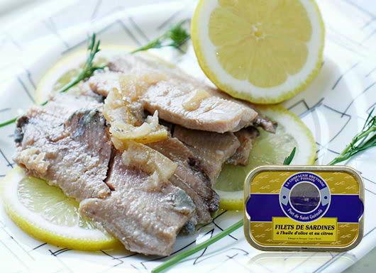ラ・コンセルヴリー・ド・ポワソン社のこだわりあふれる<br>『サーディン・フィレのレモンオイル漬け』