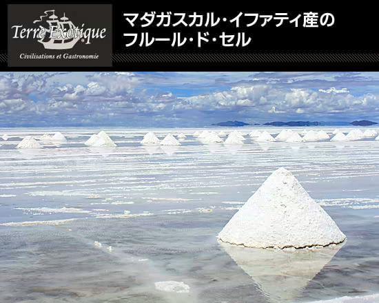 マダガスカル・イファティ産のフルール・ド・セル
