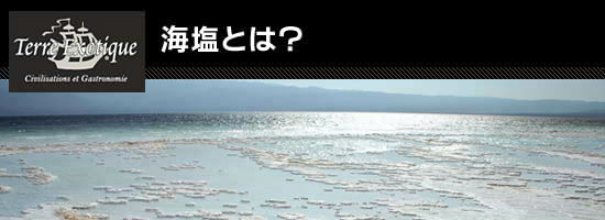 ●海塩とは?