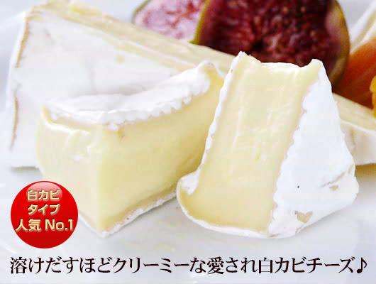 溶けだすほどクリーミーな愛され白カビチーズ♪