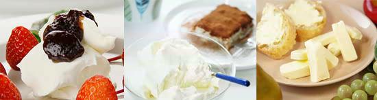 マリアージュセット <ストロベリー>&フレッシュチーズ2種