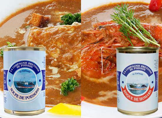 『ブルターニュ海の幸 絶品スープ2種セット』
