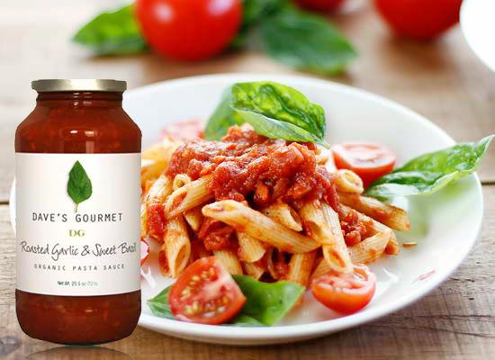 『Daves & Gourmet  デイブス&グルメ社<br>『ローストガーリック&スウィートバジルソース』