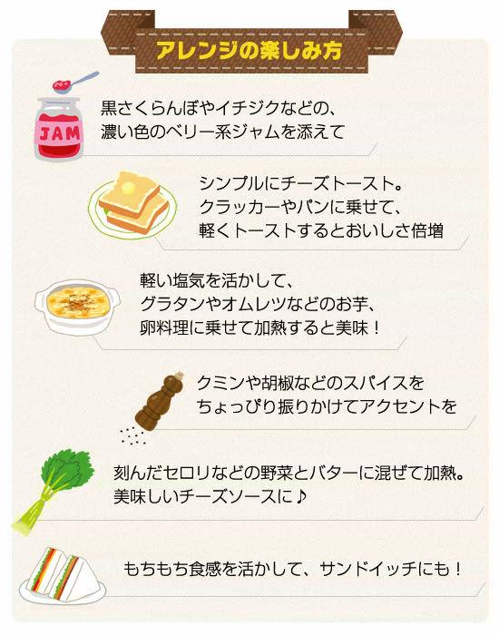 <●アレンジの楽しみ方>