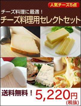 チーズ料理用セレクトセット