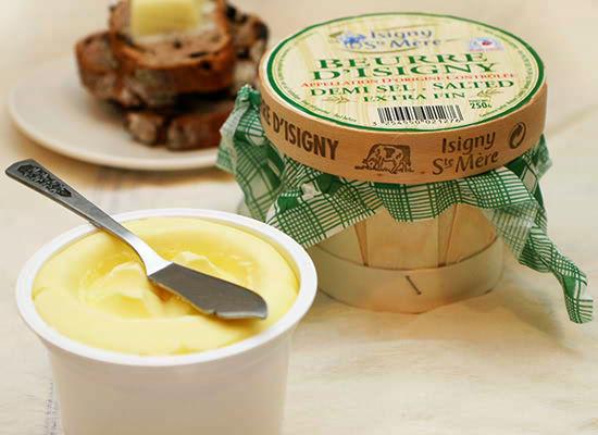 『イズニーAOP発酵バター カゴ入り(有塩)』