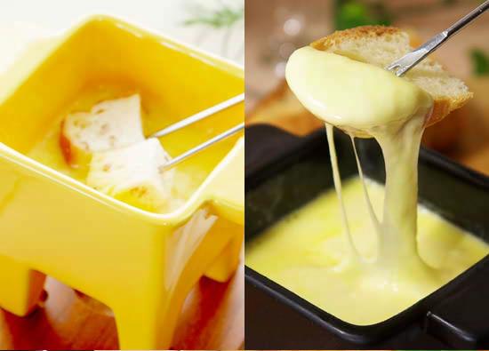 ■『チーズフォンデュ』!