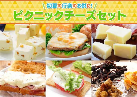 『ピクニックチーズセット』
