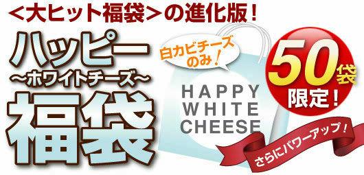 <大ヒット福袋>の進化版!みんな大好き白カビチーズだけが入ったスペシャル福袋!『ハッピー・ホワイトチーズ福袋』【先着50名様限定】