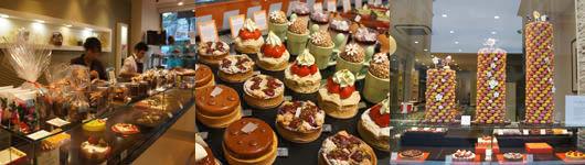 フランスでのケーキ店食べ歩き