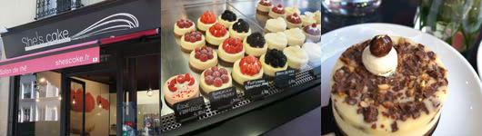 パリ一のチーズケーキ専門店