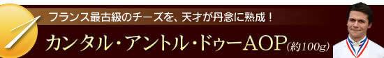 『ロドルフ熟成 カンタル・アントル・ドゥーAOP』(約100g)