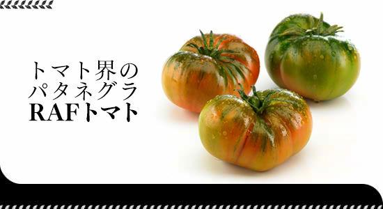 トマト界のパタネグラ「RAFトマト」