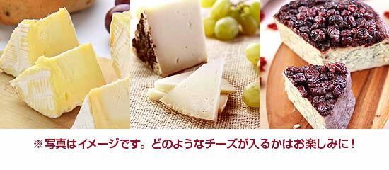 ※写真はイメージです。どのようなチーズが入るかはお楽しみに!
