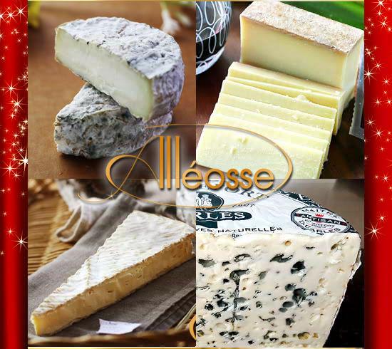 『晩餐会チーズプレートセット』日本初上陸のチーズ3品をふくむ4品入り