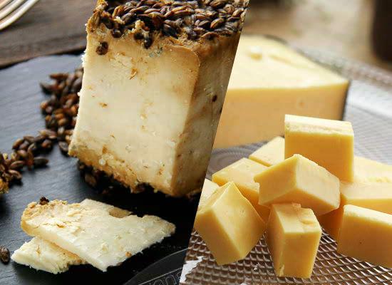 【4】お酒好きなお父さんへ!酔っぱらい&酒飲みチーズのセット『ウィスキー&ビールのマリアージュセット』をどうぞ!