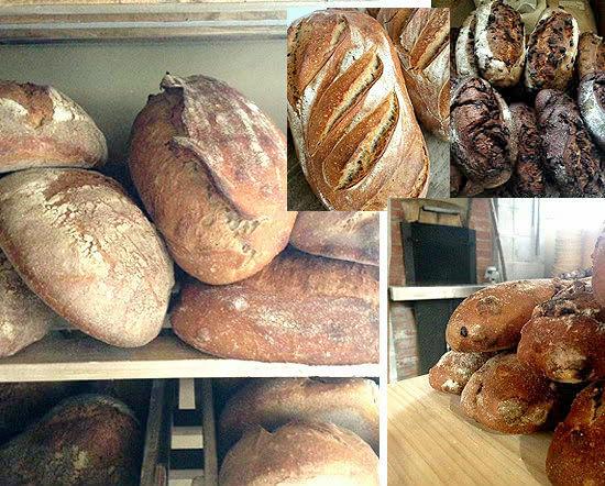 こうして焼き上げたパンは、素朴で飾らない美しさ。