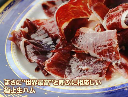 『【フアン・ペドロ・ドメック】ベジョータ・100%イベリコ・パタネグラ(約80g)