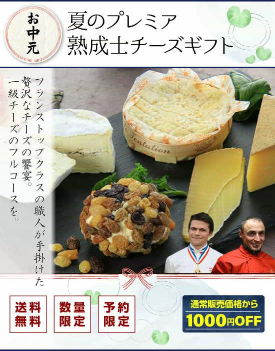『【お中元】夏のプレミア熟成士チーズギフト』