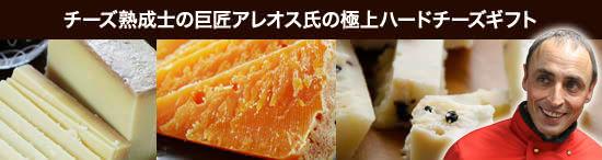 <チーズ熟成士の巨匠アレオス氏の極上ハードチーズギフト>