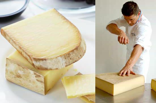 トゥールのロドルフ氏の熟成庫で「売約済」見た目は大きなドーナツ!むちっとした食感が絶妙な羊乳チーズ♪→原材料:生めん羊乳、食塩
