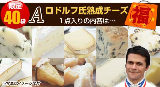 限定40個】<タイプA>ロドルフ氏熟成チーズ1点入りの内容は…