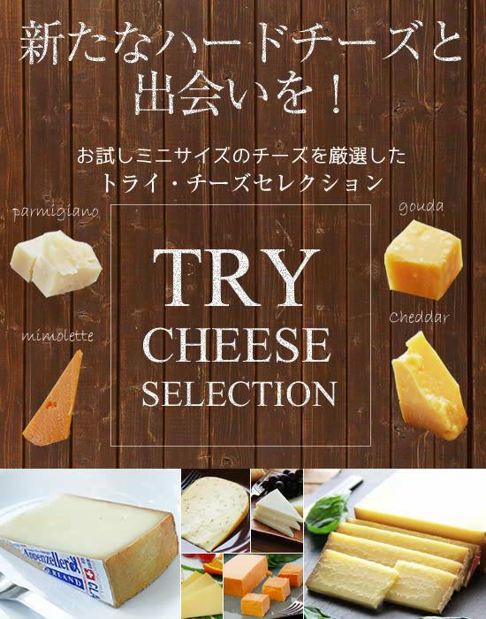 『トライ・チーズセレクション』