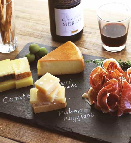 チーズ&生ハムセット