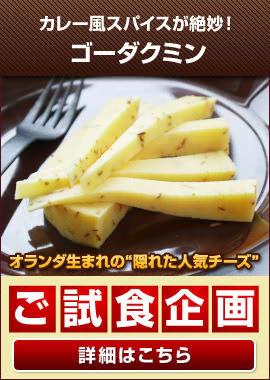 <ご試食キャンペーン>『ゴーダクミン』