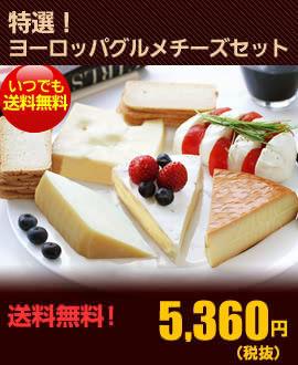 特選!ヨーロッパグルメチーズセット