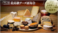 最高級チーズ頒布会